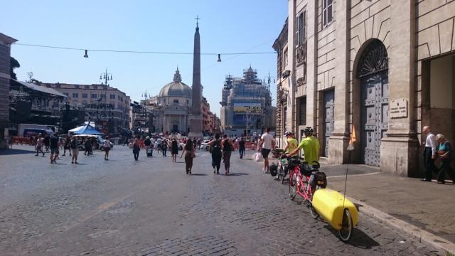 Arrivée à Rome