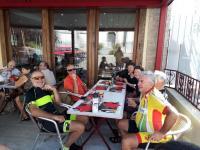 Route du Champagne - Pause repas à Essoyes