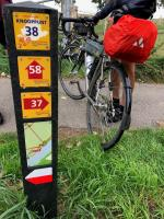Panneau indicateur de pistes cyclables