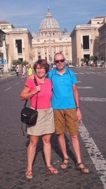 Place St Pierre- Rome