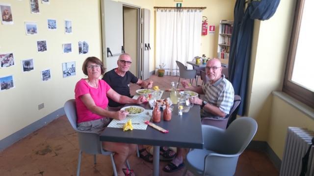 La pasta à Piverone (Piémont)
