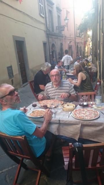 Toujours à table - Bolsena (Latium)