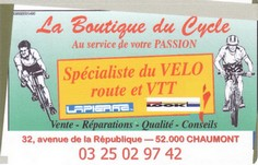 Copie de boutique du cycle